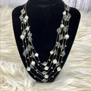 Jewelry - 🔥8🔥Five layered beaded Statement Necklace
